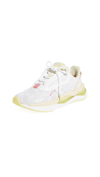 PUMA LQDCELL SHATTER XT First Mile CAMO Sneakers in white