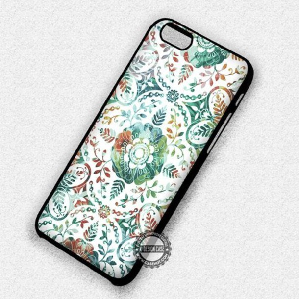 top pattern art flowers iphone cover iphone case iphone 7 case iphone 7 plus iphone 6 case iphone 6 plus iphone 6s iphone 6s plus iphone 5 case iphone 5c iphone 5s iphone se iphone 4 case iphone 4s