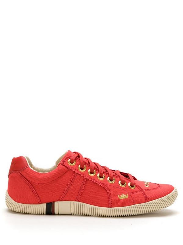 Osklen canvas Riva sneakers in red
