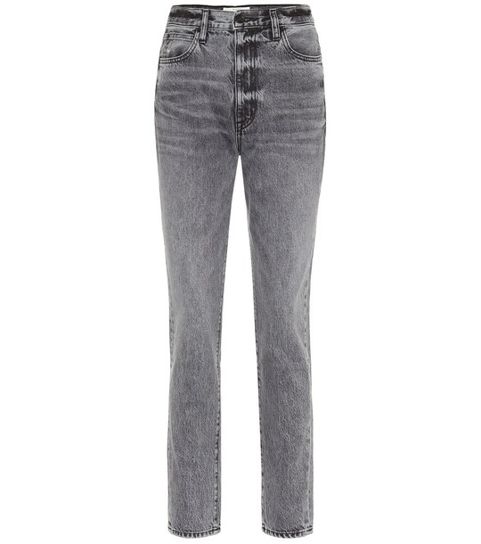 Slvrlake Beatnik high-rise skinny jeans in grey