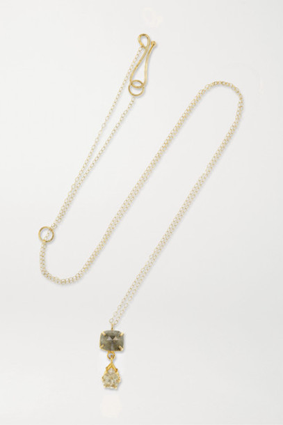 Melissa Joy Manning - 18-karat Gold Diamond Necklace
