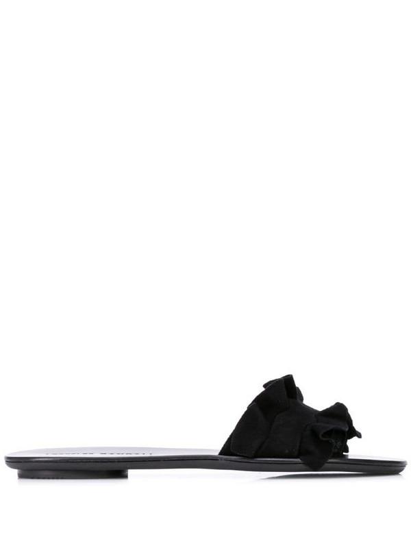 Loeffler Randall Birdie slide on sandals in black