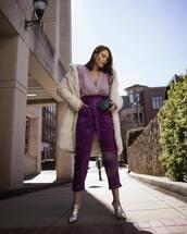 top,purple top