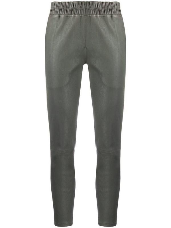 Inès & Maréchal elasticated waist trousers in grey