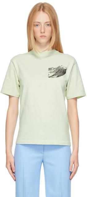 Stockholm (Surfboard) Club Stockholm (Surfboard) Club Green Ben Gorham Edition Kil Print T-Shirt