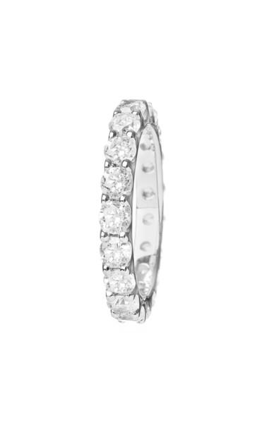 Eera Diamond Link Ring in white