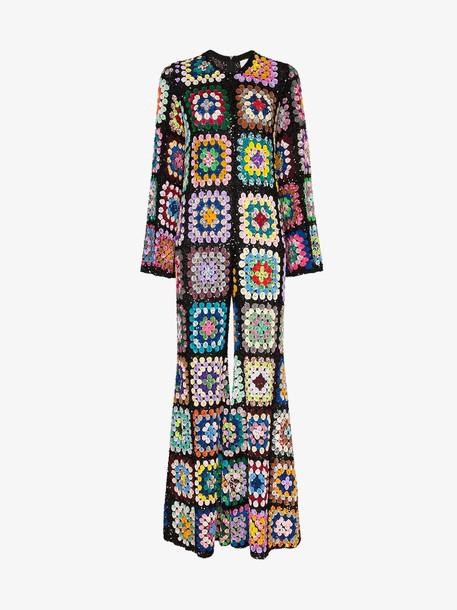 Ashish sequin embellished crochet jumpsuit