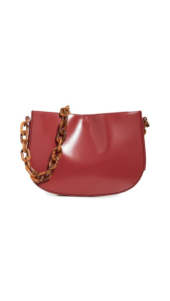 By Far Pelle Bag in red
