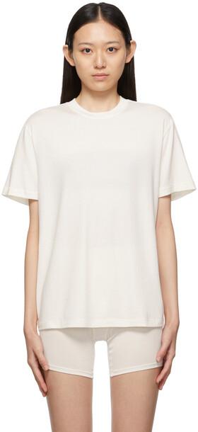SKIMS Off-White Boyfriend T-Shirt