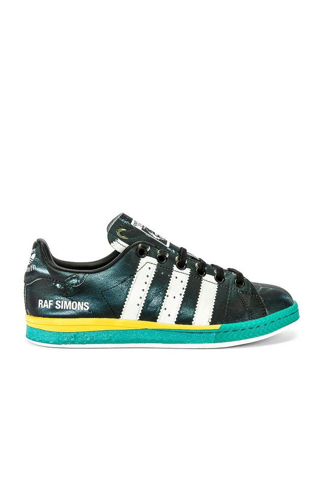 adidas by Raf Simons Samba Stan Sneaker in black