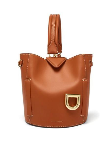 Danse Lente - Josh Ginger Leather Bucket Bag - Womens - Tan