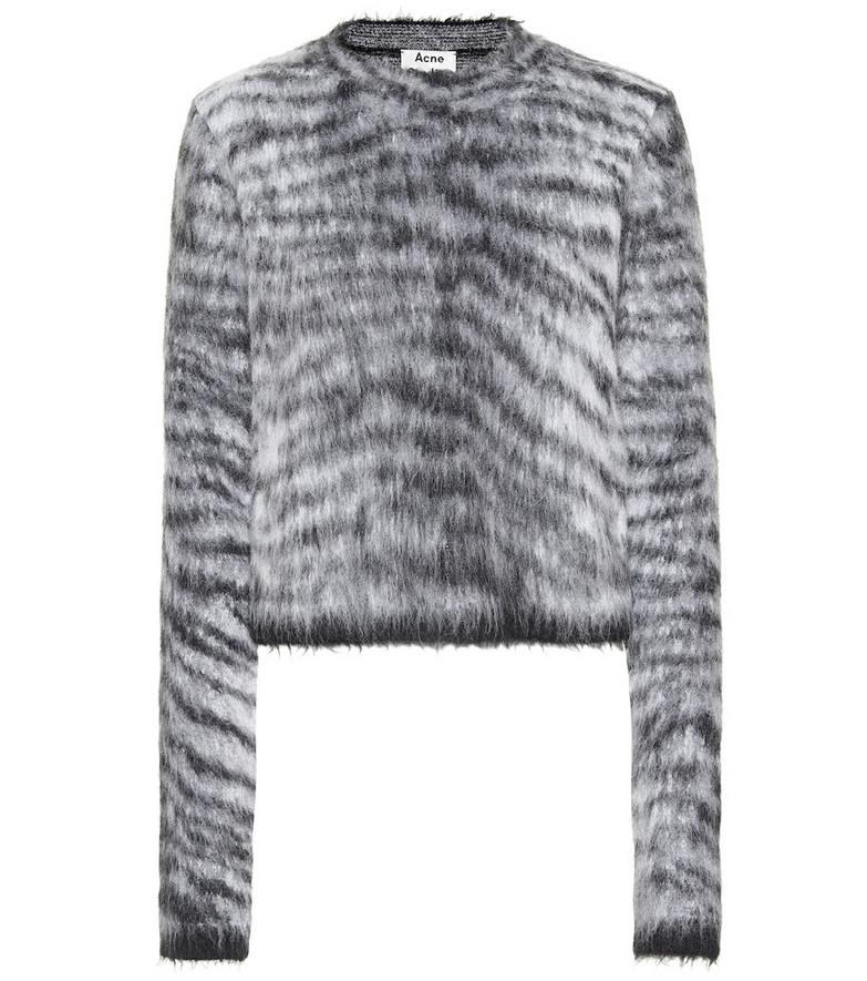 Acne Studios Striped sweater in black