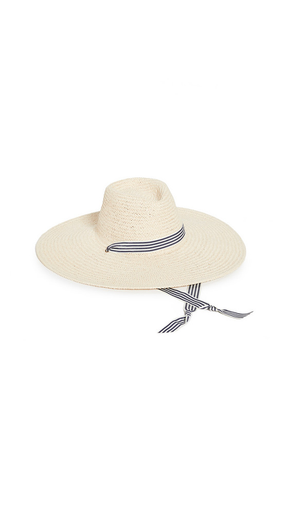 Hat Attack Packable Raffia Bucket Hat in natural
