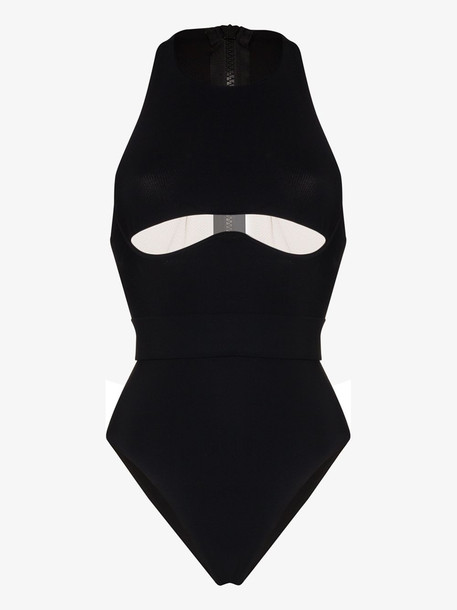 Agent Provocateur Odie cutout swimsuit in black