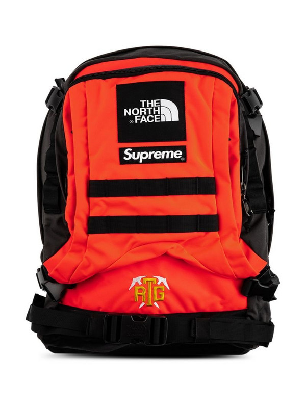 Supreme x The North Face backpack in red