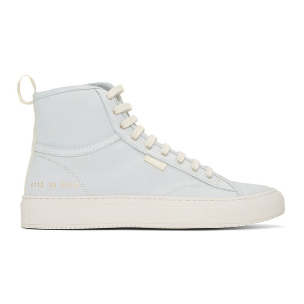 Woman by Common Projects White Nubuck Tournament High Sneakers
