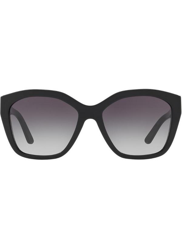 Burberry Eyewear square frame sunglasses in black