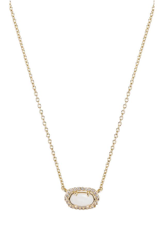 Kendra Scott Chelsea Necklace in gold / metallic
