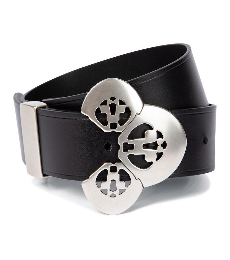 Isabel Marant Adaria leather belt in black