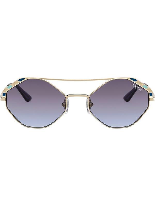 Vogue Eyewear round frame sunglasses in gold