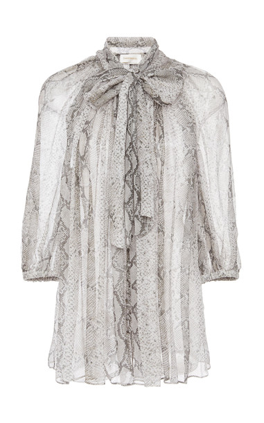Zimmermann Corsage Fluted Blouse