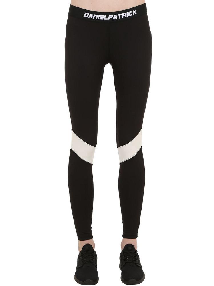 DANIEL PATRICK Dp Sport Leggings in black