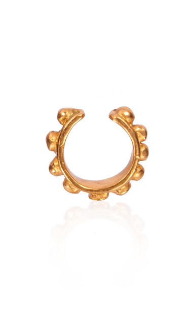CANO Royce Nose Ring in gold