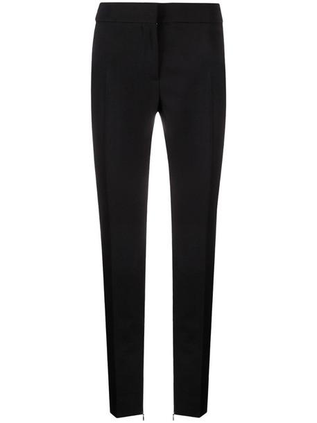 Tom Ford side-stripe skinny wool trousers in black