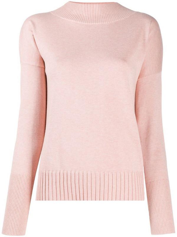 BOSS high-neck jumper in pink