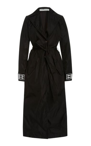 Off-White c/o Virgil Abloh Shell Trench Coat in black