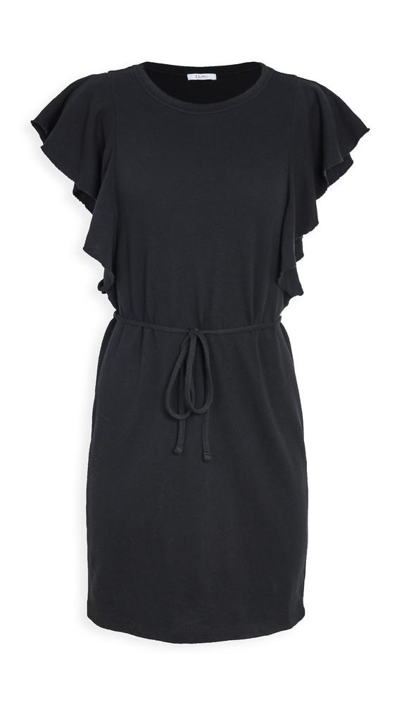 Z Supply Capri Ruffle Dress in black