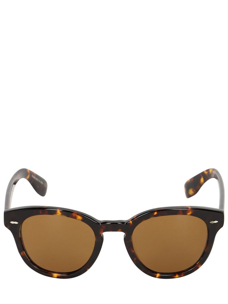 OLIVER PEOPLES Cary Grant Sun Round Acetate Sunglasses