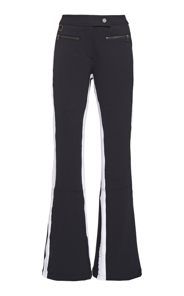 Erin Snow Phia Two-Tone Bootcut Ski Pants Size: 0 in black
