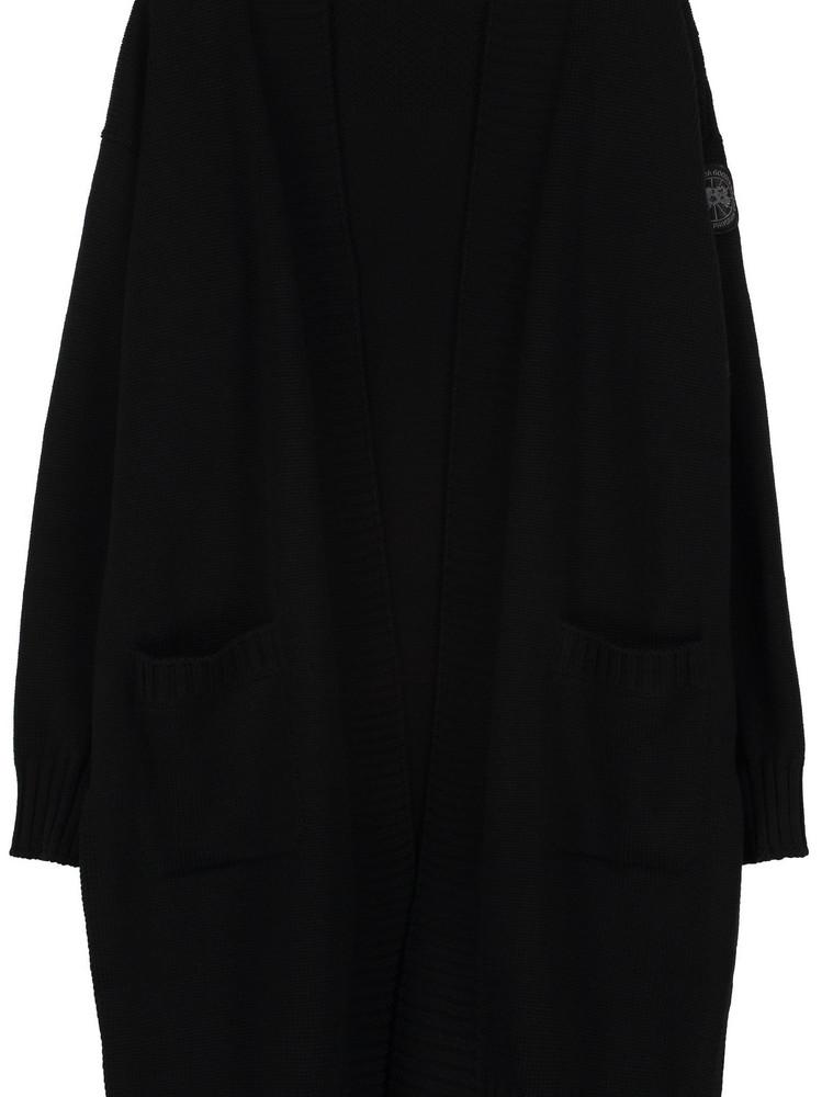 Canada Goose Cortina Merino Wool Cardigan in black