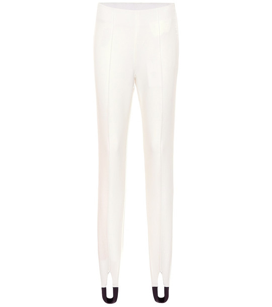 Bogner Elaine ski leggings in white