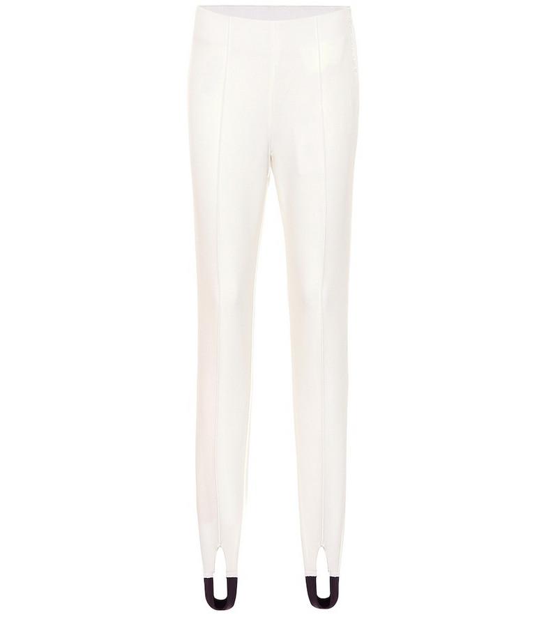Bogner Elaine ski leggings in white