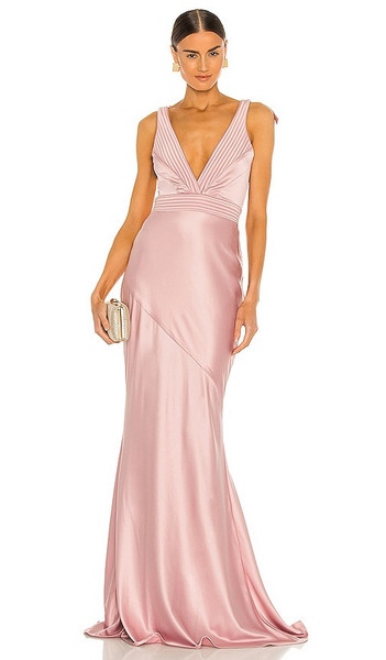 Zhivago Beloved Gown in blush