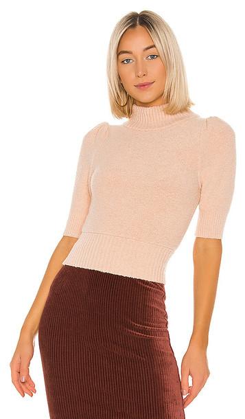 Free People Sugar Pie Sweater in Pink