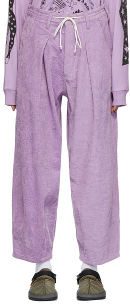 STORY mfg. STORY mfg. Lush Trousers in lilac