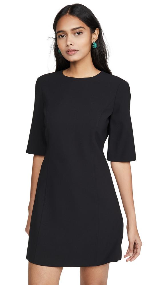 alice + olivia alice + olivia Coley Long Sleeve Dress in black