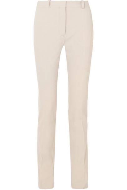 Joseph - Zoran Wool-blend Slim-leg Pants - Beige