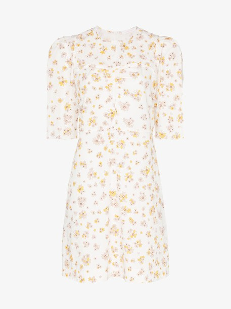 See By Chloé See By Chloé floral print poof sleeve cotton mini dress
