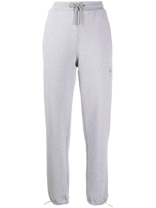 Opening Ceremony logo print track trousers in grey