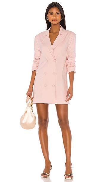 MAJORELLE Beau Blazer Dress in Pink