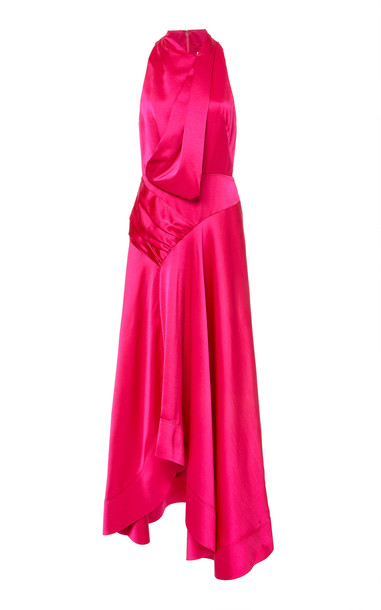 Acler Palmera Gown Size: 2 in pink