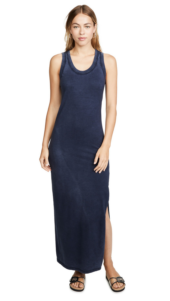 AG Cambria Maxi Dress in indigo