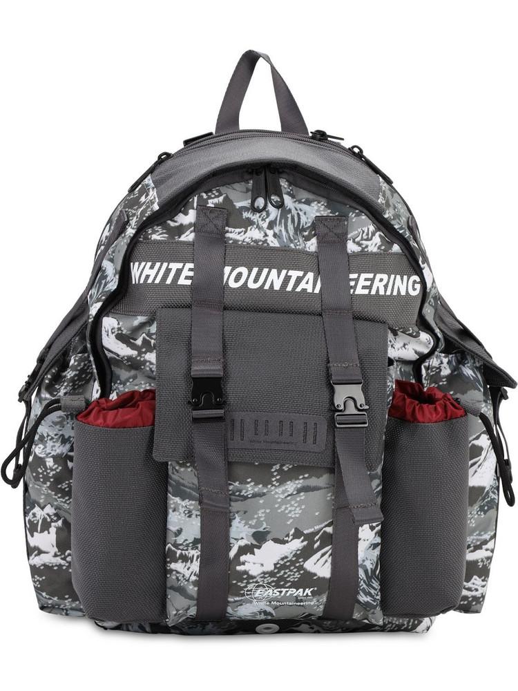 EASTPAK Mountaineering Nylon Backpack in grey