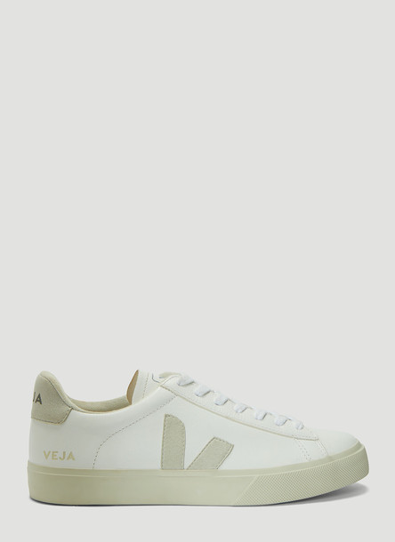 Veja Campo Leather Sneakers in White size EU - 39