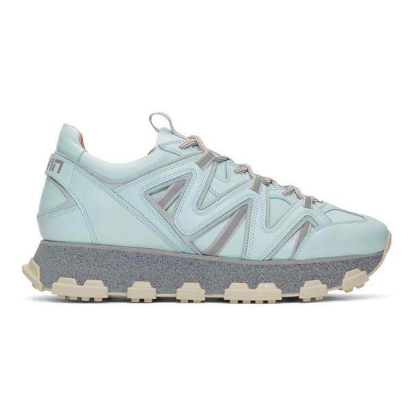 Lanvin Blue Lightning Sneakers