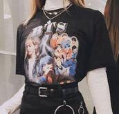 top,bts,bts jhope,kpop,vintage,vintage band shirt,band t-shirt,graphic tee,graphic shirt,shirt,women,hypebeast,streetstyle,streetwear,hypebae,bts jimin,bts suga,bts kpop,bts min yoongi,bts jungkook,bts rap monster,bts taehyung beige vest koorea   kpop,bts v